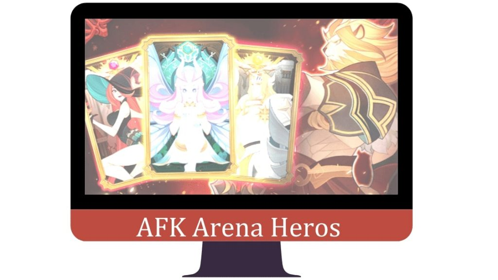 afk arena mod apk character heroes
